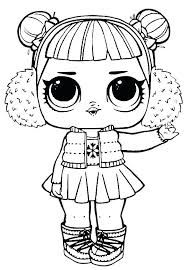 4000 Lol Doll Coloring Pages Printable Unicorn  Images