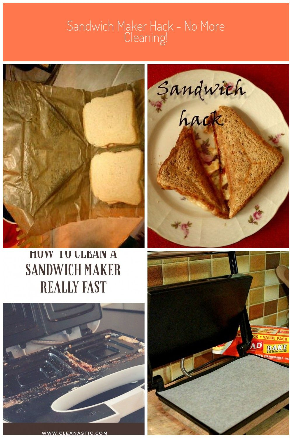 Sandwich Maker Hack No More Cleaning Roastbeef Kleines Fest Sautiertes Gemuse