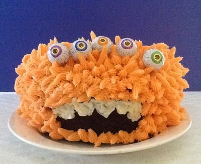 Monster Cake For Halloween
