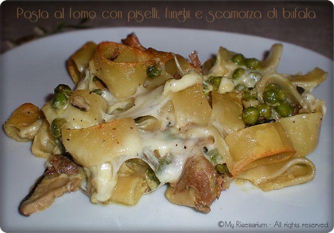 Ricetta pasta con funghi di carne