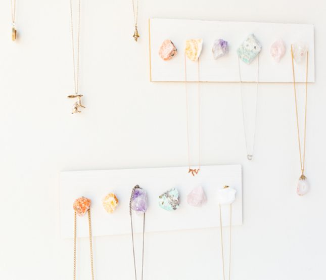 15 Creative Ways to Organize Your Jewelry Organizing Tutorials
