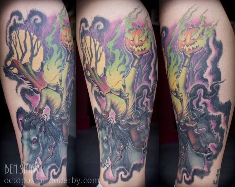 Headless Horseman Tattoo Tattoos I Tattoo Body Mods