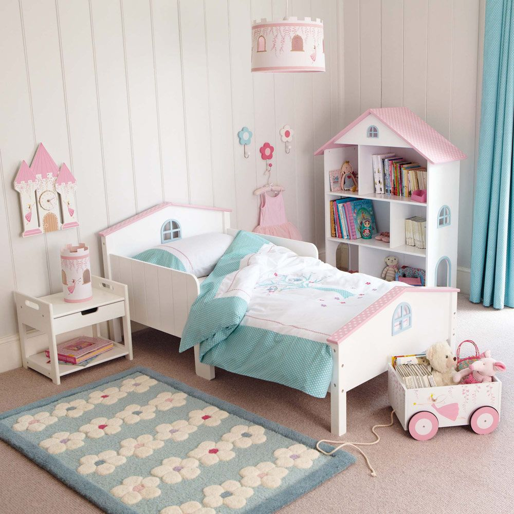 Dotty Dolls House Toddler Bed