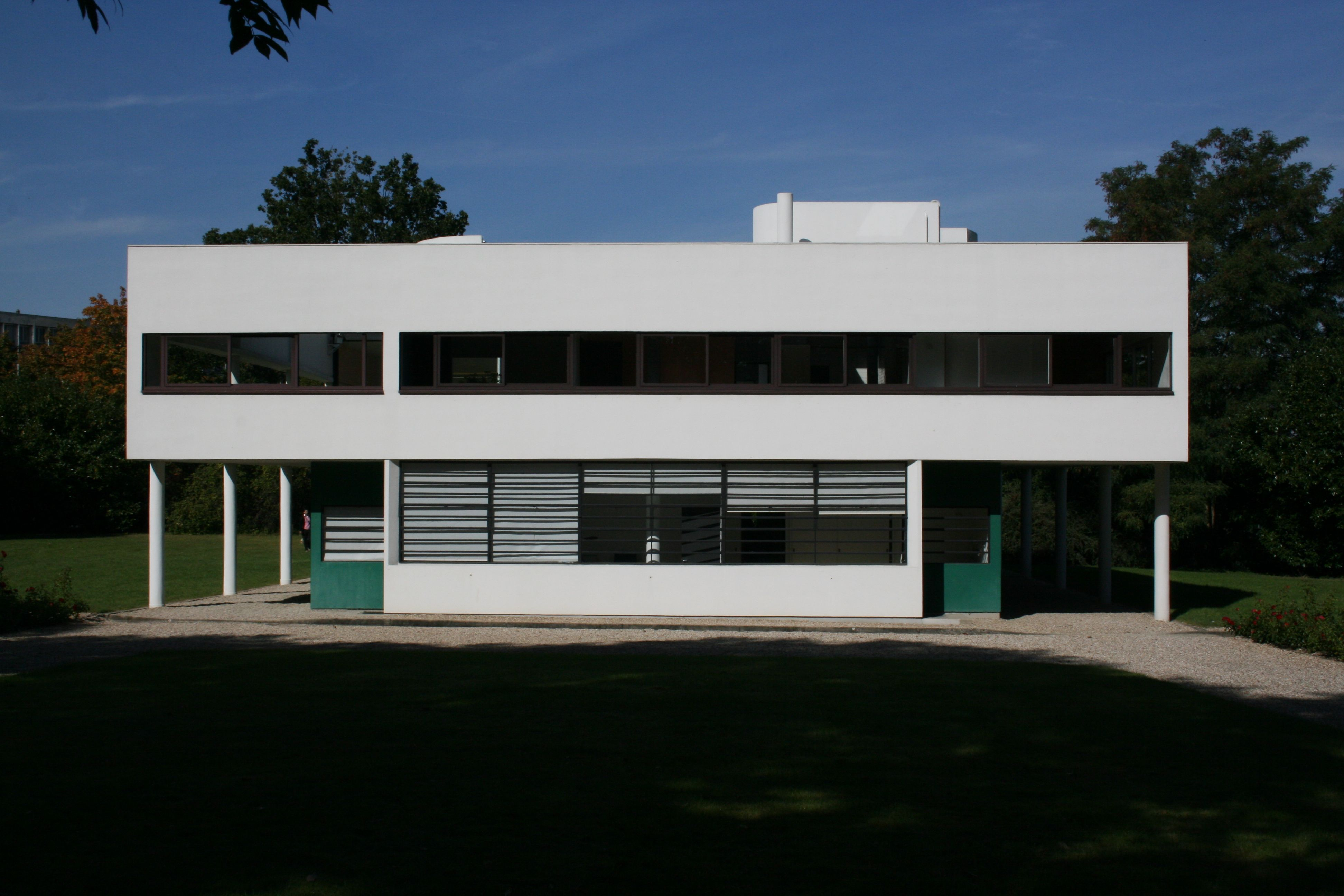 Villa Savoye Residencia Savoye 1930 Lecorbusier