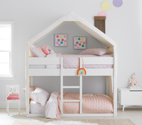 Camden House Bunk Bed Bed For Girls Room House Bunk Bed