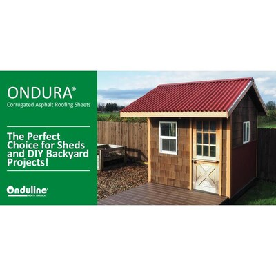 Ondura 12 5 In X 39 5 In Cellulose Fiber Asphalt Roof Panel Ridge Caps Lowes Com In 2020 Roof Panels Asphalt Roof Roof