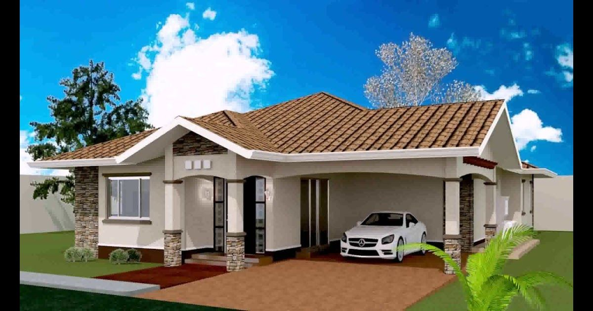 3 Bedroom Modern House Plans 3 Bedroom House Plans Floor Plans Designs 3 Bedroom House Plans With 2 Or 2 1 2 Bathrooms Are The Mo Bungalow House Philippines
