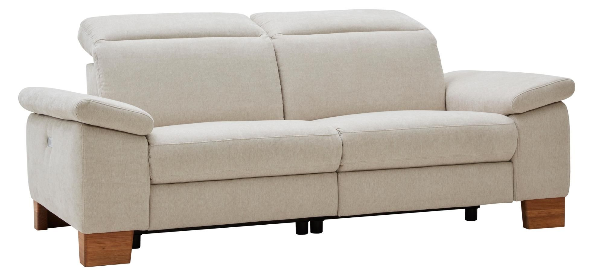 Kleines 3 Sitzer Sofa Natura Michigan In Creme Farbenem Stoff Berkemeier Home Company In 2020 3 Sitzer Sofa Sofa Michigan