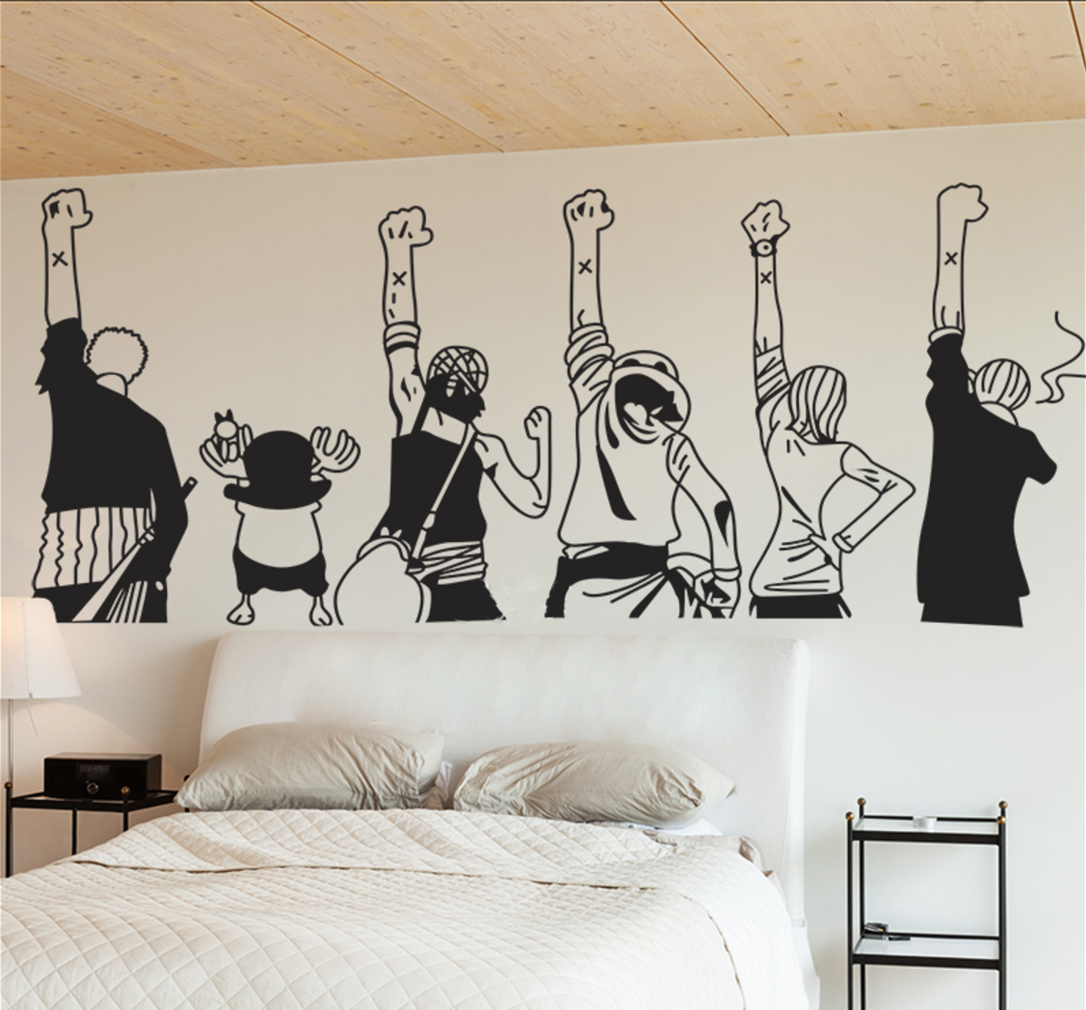One Piece Wall Sticker //Price: $15.15 & FREE Shipping
