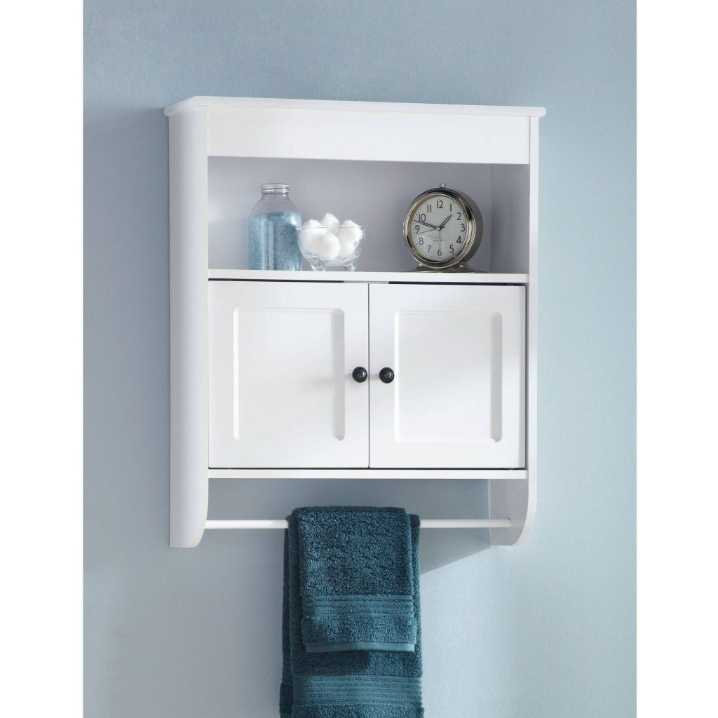 Bathroom Wall Cabinets Hawthorne Place Wood Wall Cabinet, White ...