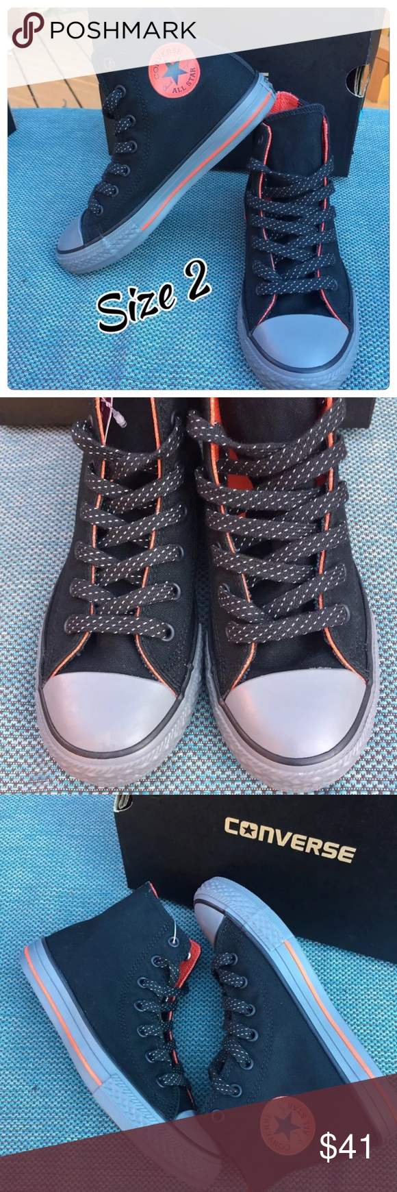 Youth Size 2 Chuck Taylor Converse NWT Brand new in Box
