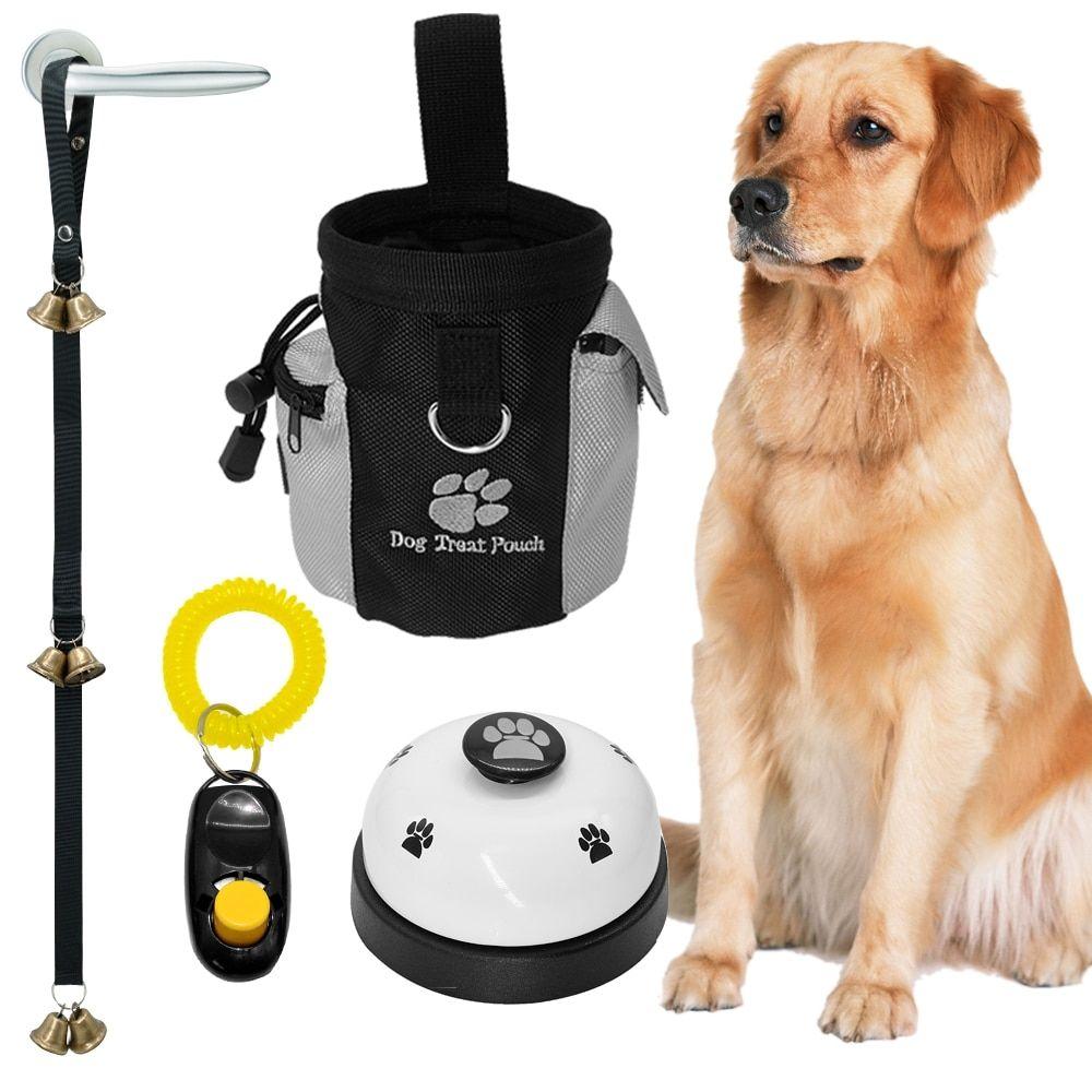 Dog S 4 Pcs Training Kit Dog Treat Pouch Dog Training Pet Bag