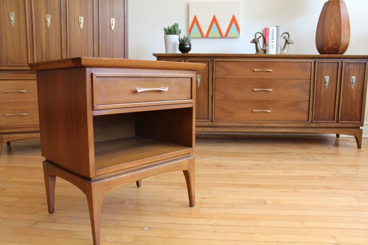 Mid Century Modern Bedroom Set mid century modern kent coffey bedroom set | modern, posts and mid