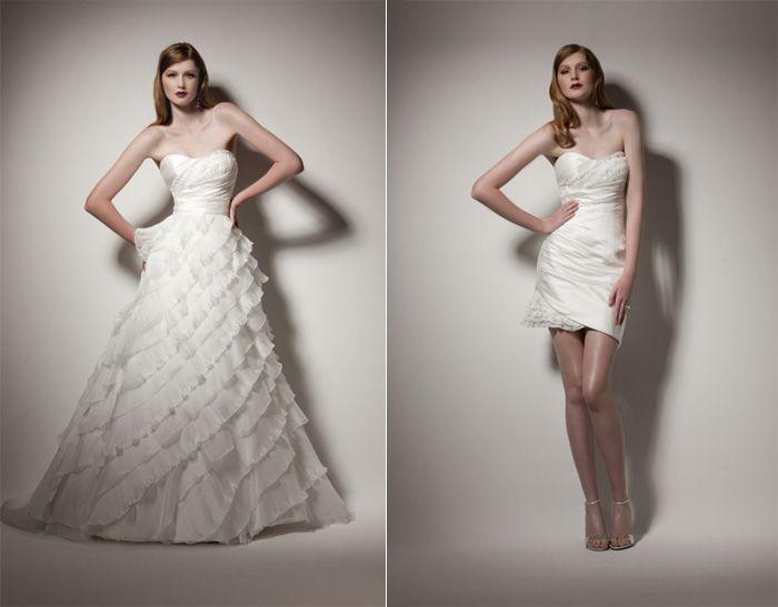 Vestidos convertibles para novias #bodas #toledo #cigarral ...