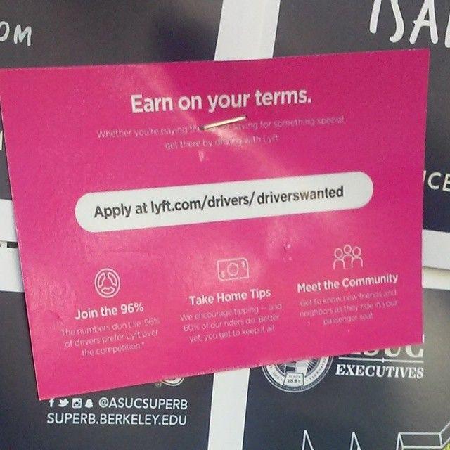 Sign Up to drive for #Lyft  http://ift.tt/21yk0qo #NewOrleans #LinkInBio #love #instadaily #cal #berkeley #bears #ucb #tflers #jobs #work #employment by lyft_promo_god