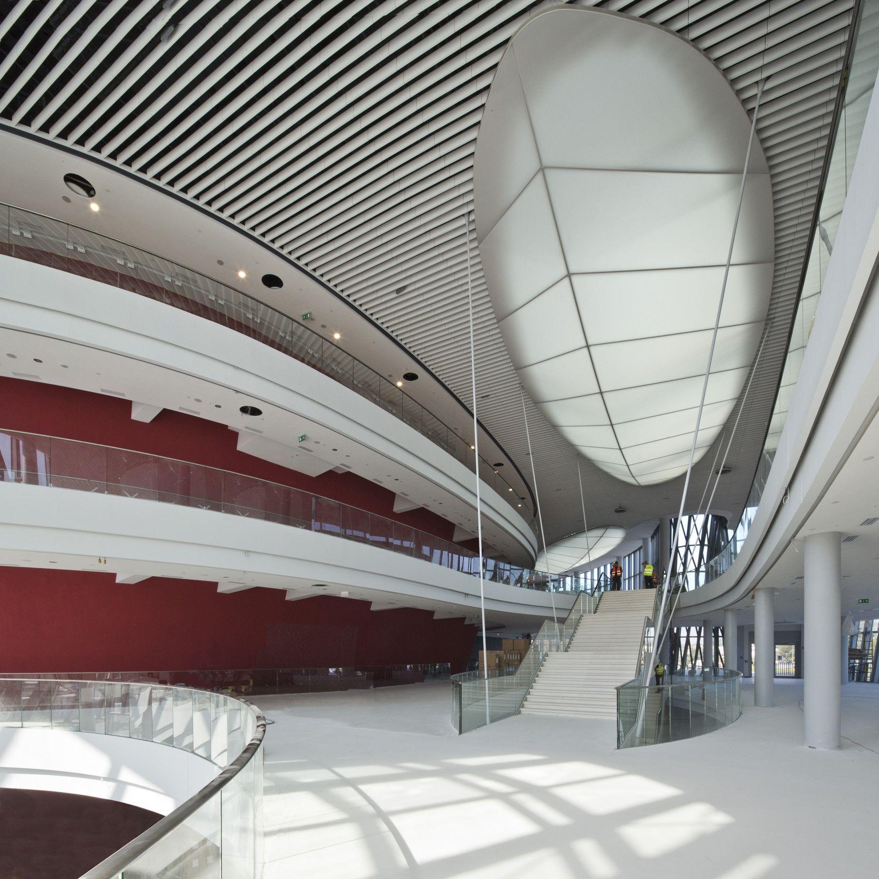 Centro de Congressos Ice Kraków  / IEA + Arata Isozaki & Associates