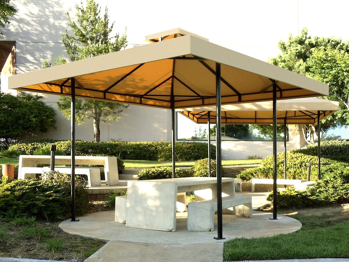 Custom Pool Cabanas By Superior Awning Let The Sun Shine Outdoor Remodel Pool Cabana Custom Pools