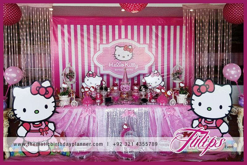Hello Kitty Birthday Party Theme Planner in Lahore Pakistan Party ...