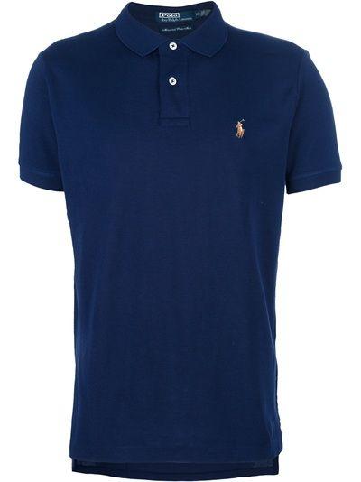 d11e0557a4551 POLO BY RALPH LAUREN Camisa Polo Azul Marinho.