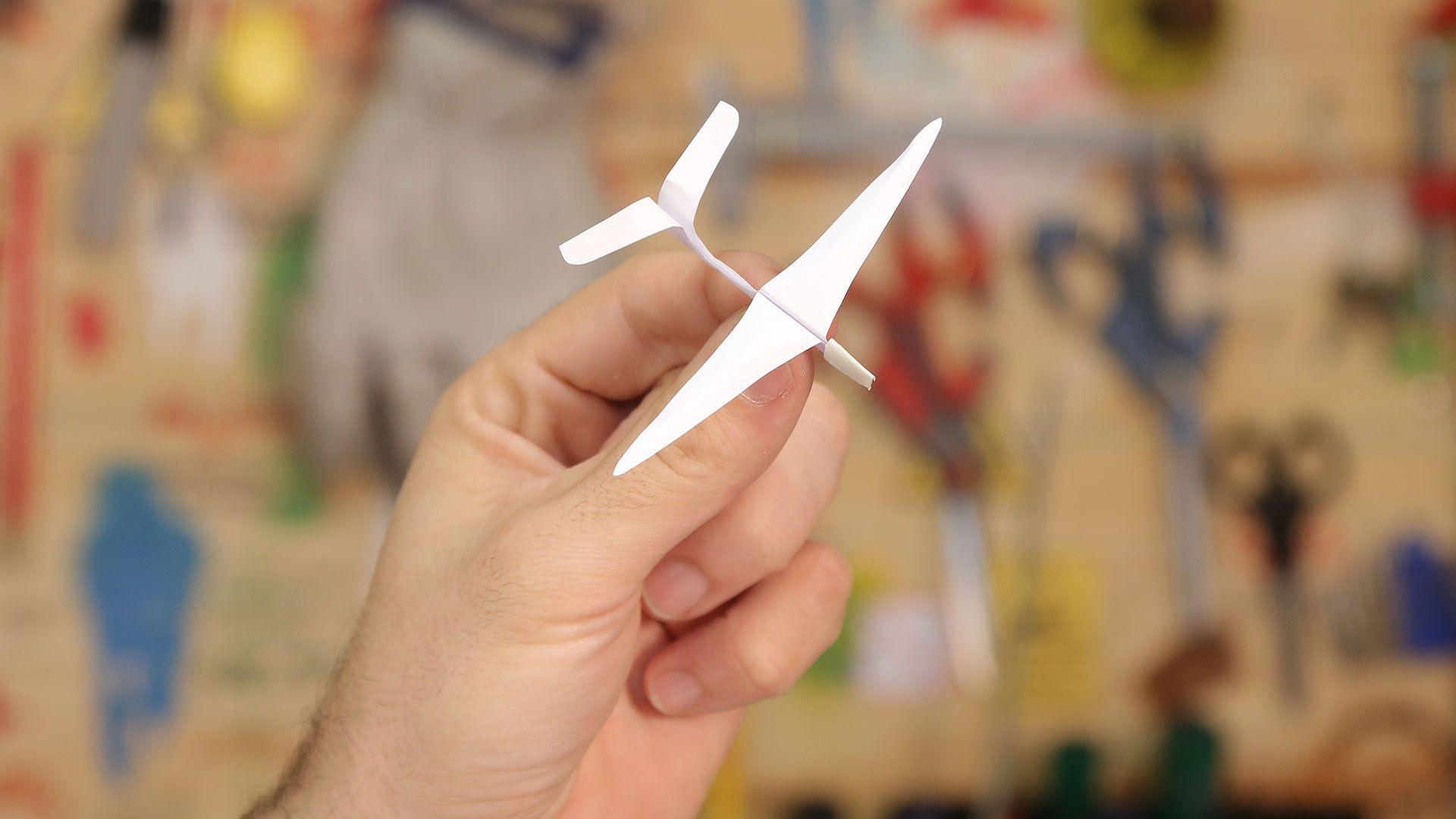 Como Fazer Miniaviao De Papel Planador De Origami