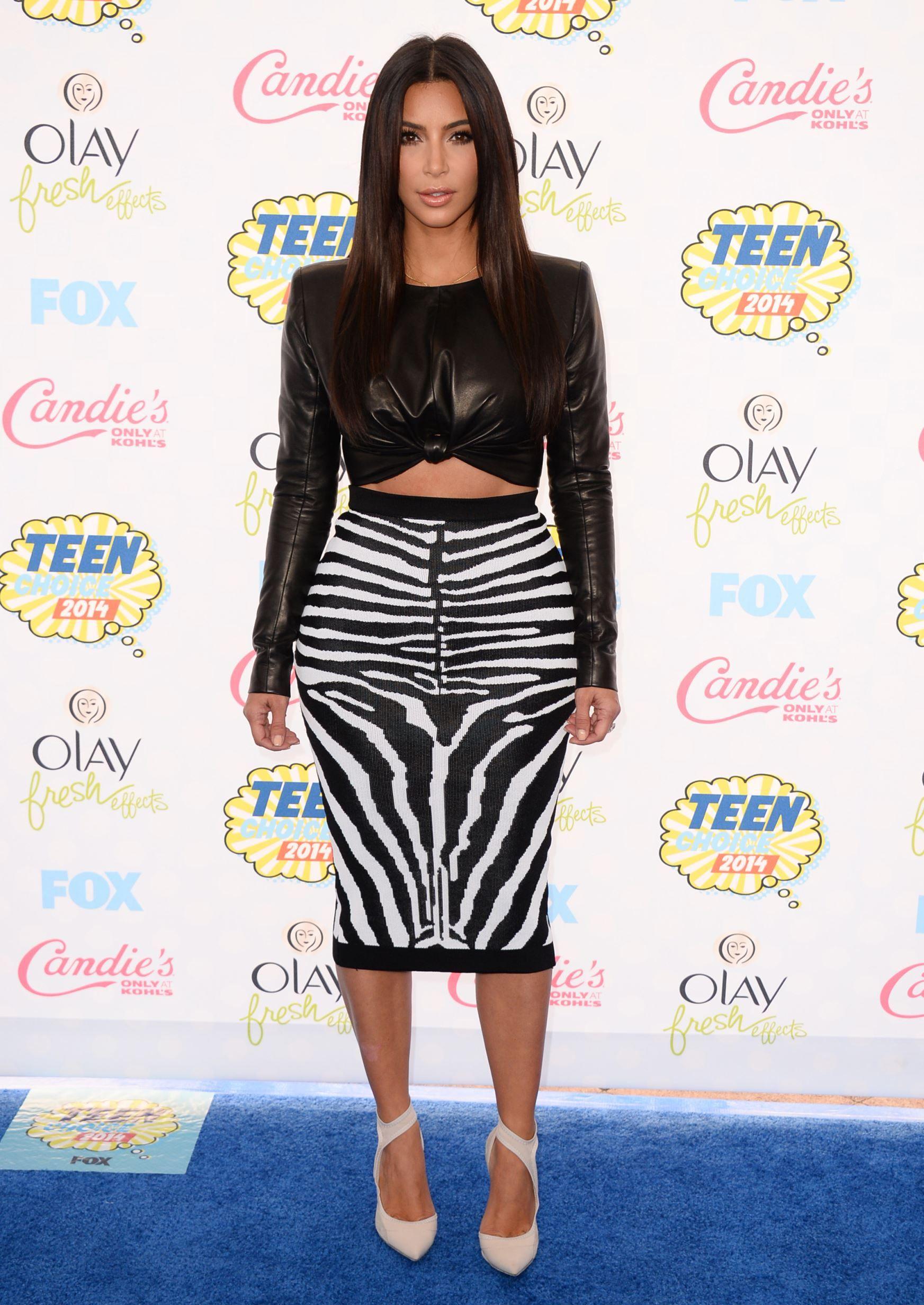 Kim kardashian westus leather looks kardashian leather and check