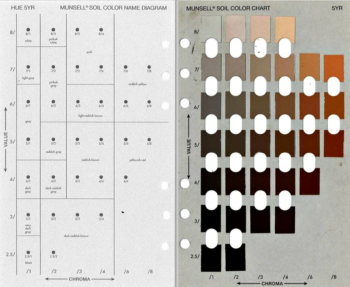 Munsell soil color chart from g soil s soil color never lies