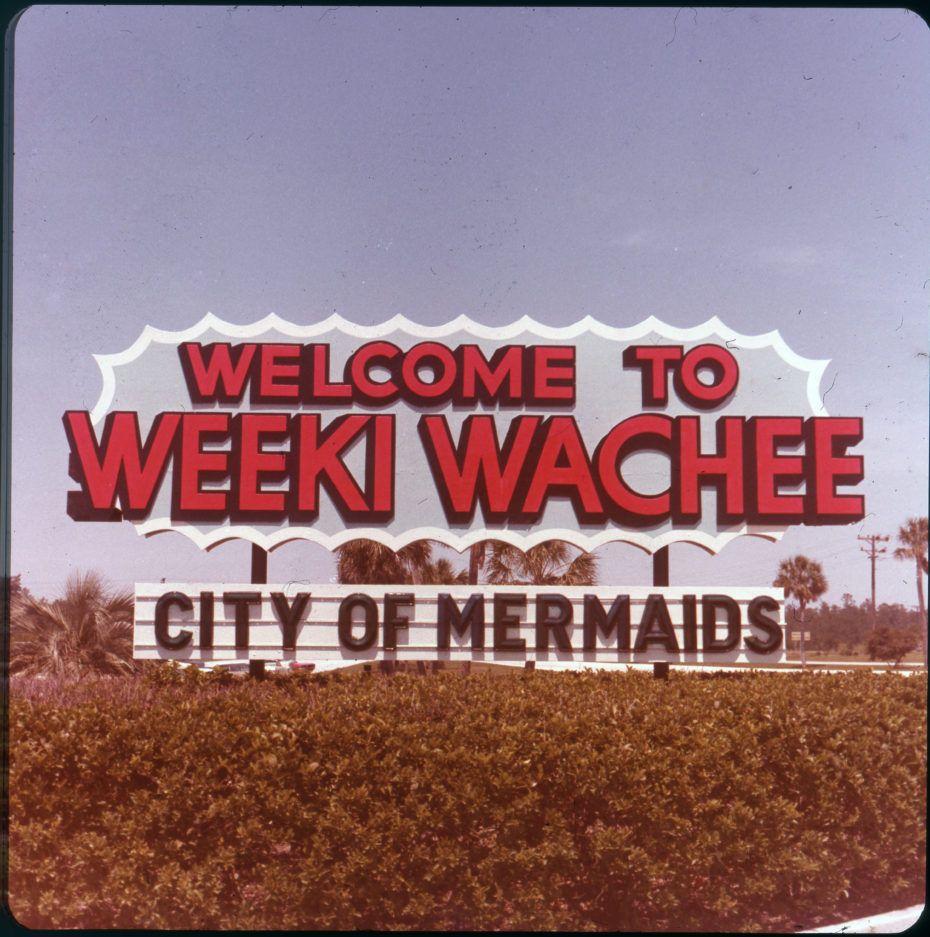 Forgotten Glamour At Mermaid City Weeki Wachee Mermaids Florida