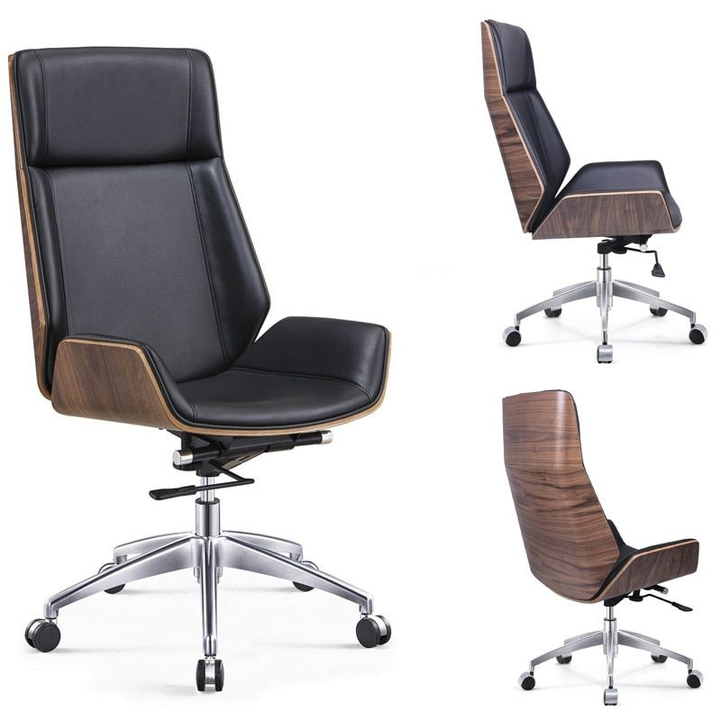 Leather Office Furniture Quality Directly From China Computer Chair Suppliers High Back Bentwood Swivel
