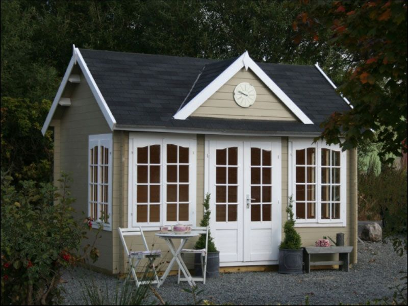 Pinecrest prefab wooden cabin kit for sale 4 from for Chalet kits for sale