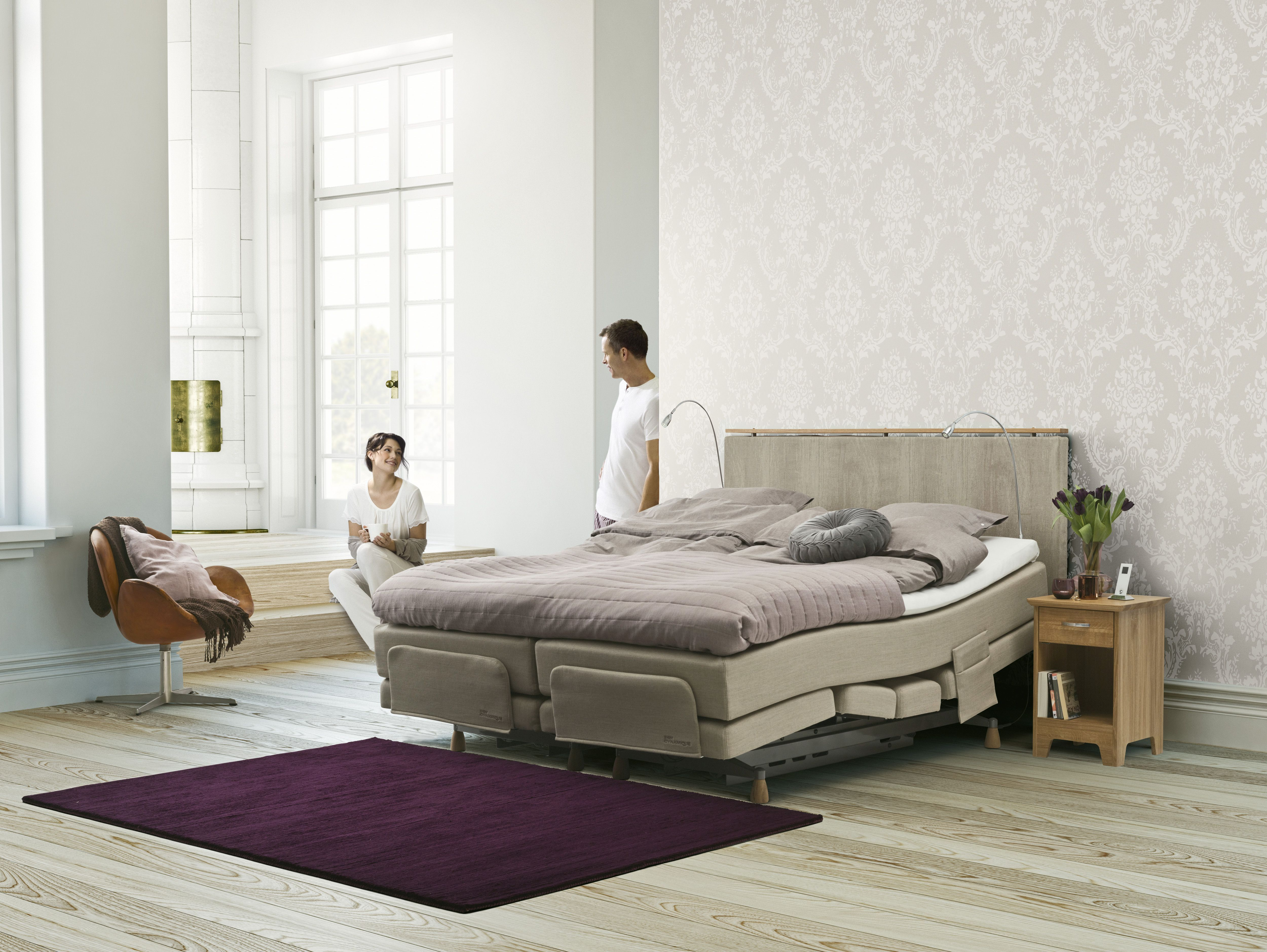 Jensen Model Supreme Dynamique Boxspring Bed Bett