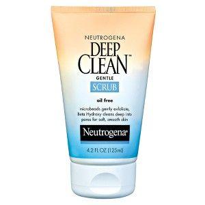 Neutrogena Deep Clean Gentle Face Scrub With Salicylic Acid