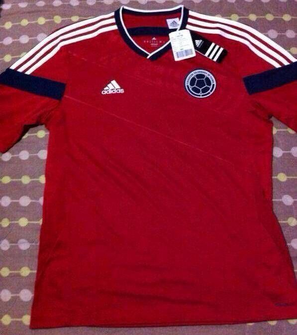 Camiseta roja Selección Colombia  789762dd42b8a