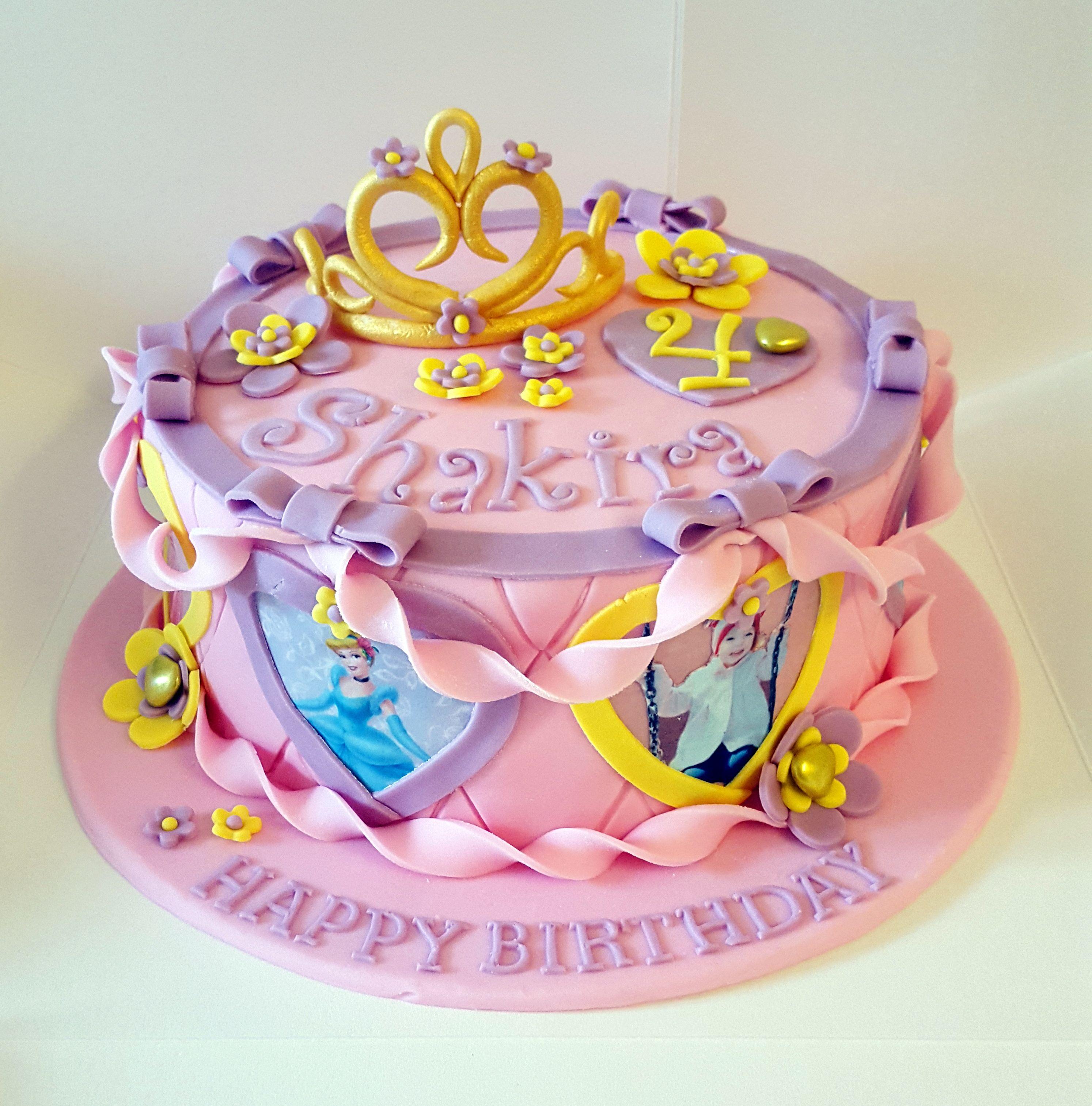 Disney Princess Birthday Cakes, Cake And