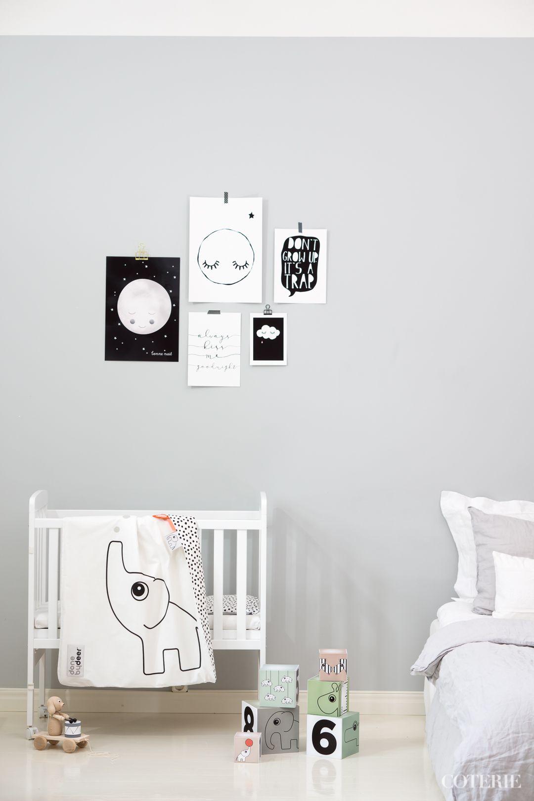Cute grey nursery