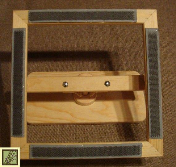 Grubers 14 Inch Rug Hooking Gripper Lap Frame Rug Hooking Rug Hooking Patterns Rugs