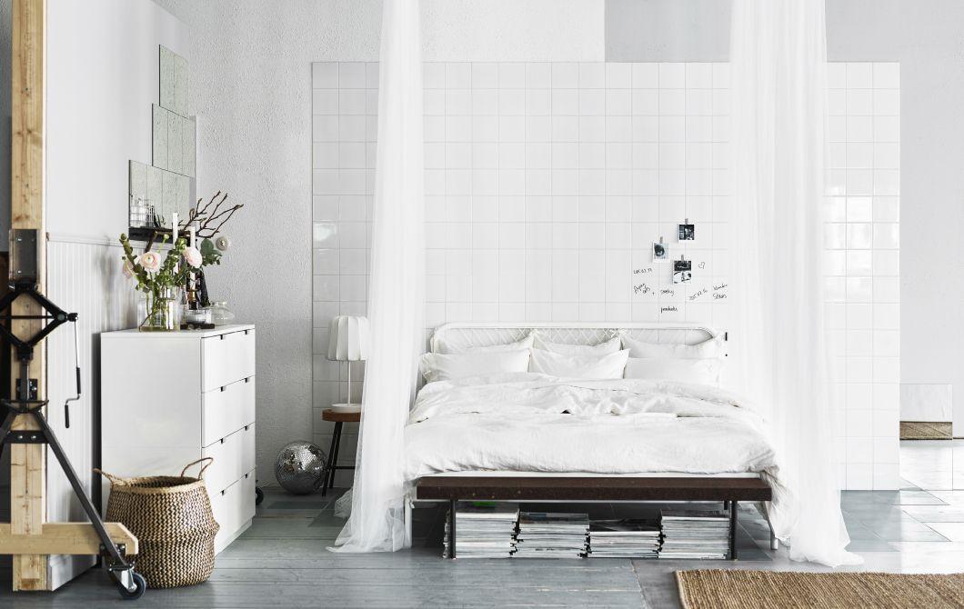 White Ikea bedroom Decor is a fancy word Pinterest