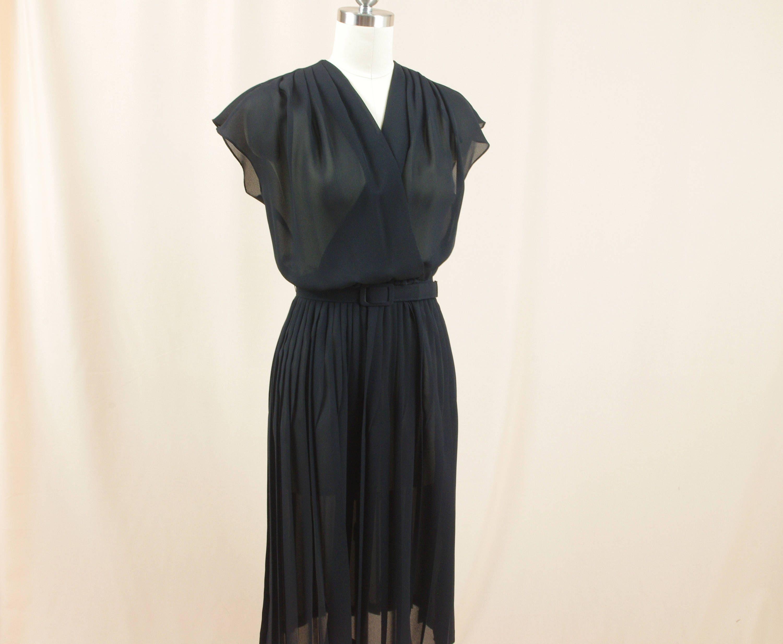70s Black Sheer Dress Amy Deb Black Dress 70s Disco Dress Etsy Sheer Dress Black Sheer Dress Disco Dress [ 2467 x 3000 Pixel ]