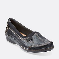 Womens Shoes Clarks Evianna Fuse Black