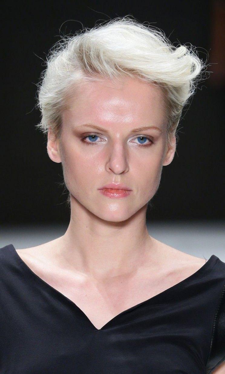 Kurze blonde Frisuren für dickes Haar  Neu Frisuren   Pinterest