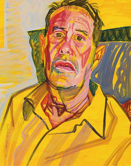 Kenneth anger (painting by Don Bachardy)