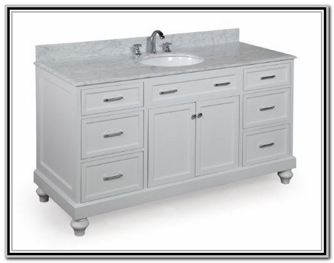 Single Sink 72 Inch Bathroom Vanity Twepto