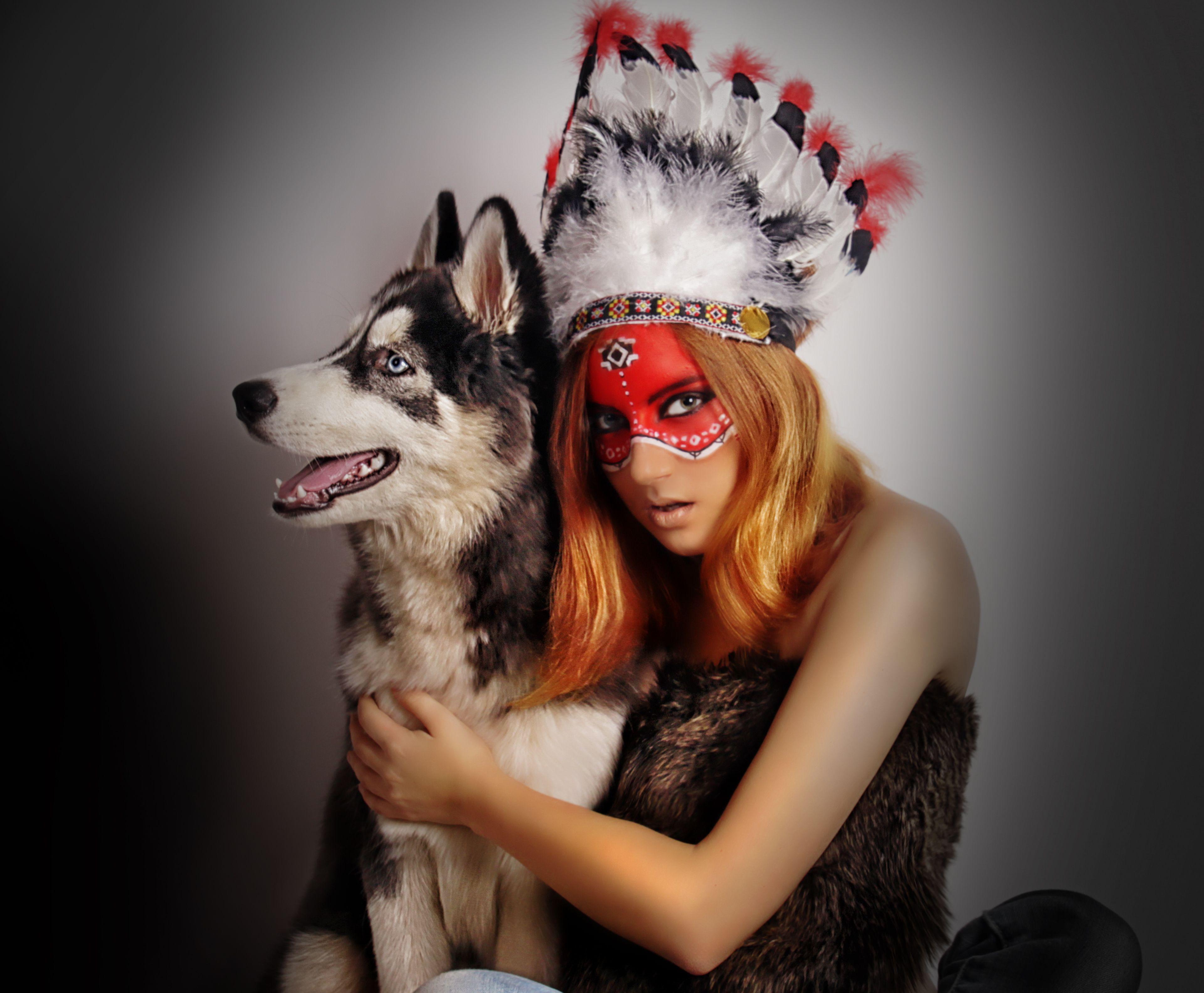 индейцы и собаки картинки именно