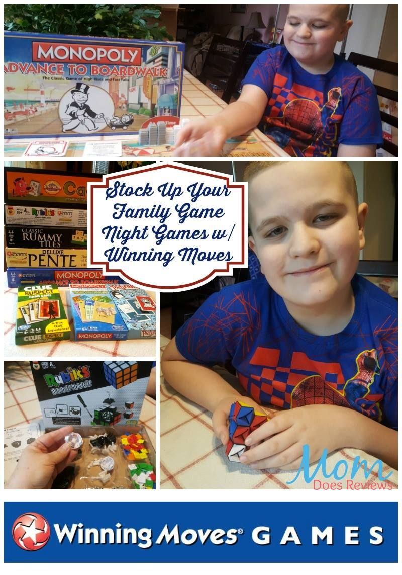 50 Winning Moves Family Games Prize Pack Giveaway