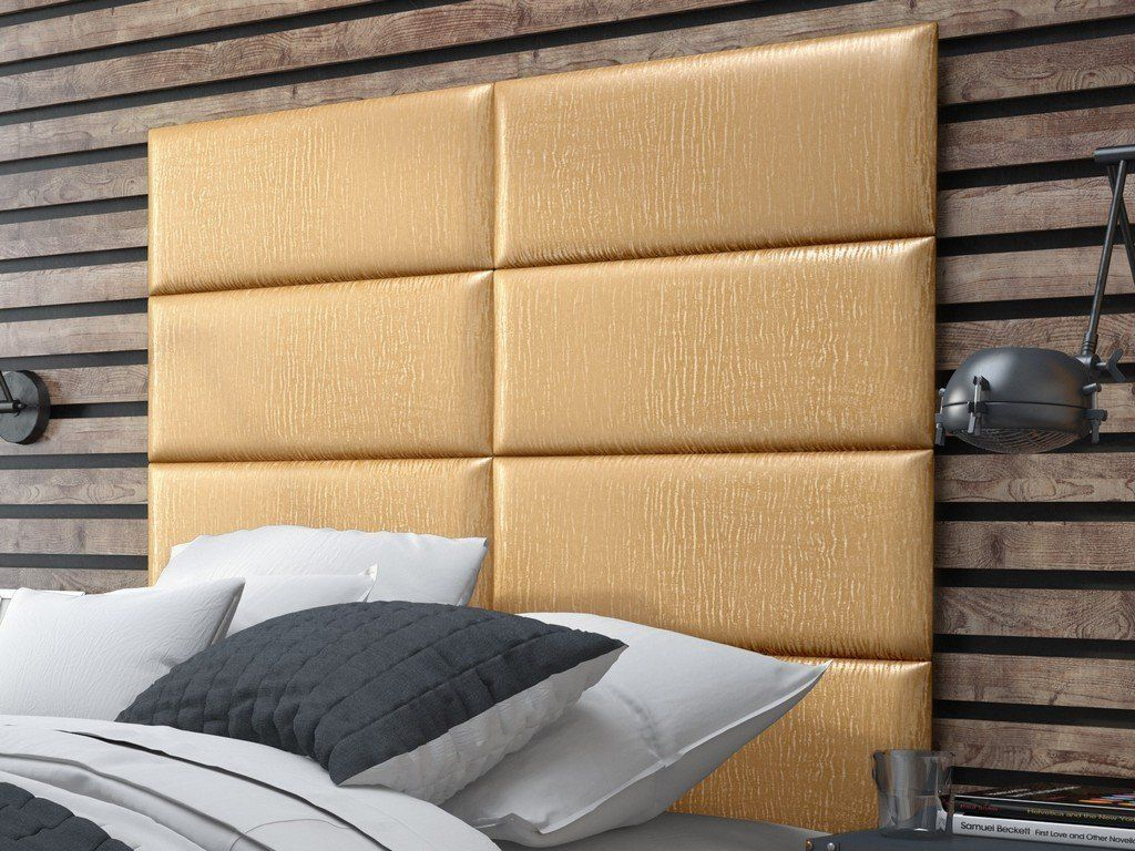 Stylish pearl gold headboard panels to match your unique tastes and ...
