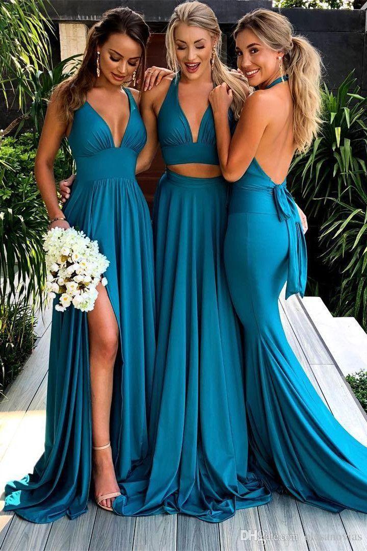 15 Vestidos de dama de honor que puedes sugerirle a la novia