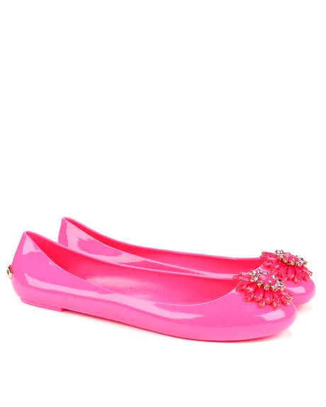 a49ee872e Brooch detail jelly pump - Pink | Footwear | Ted Baker UK | Shoes ...