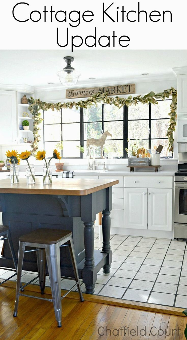 An Update on Our Cottage Kitchen | Pinterest