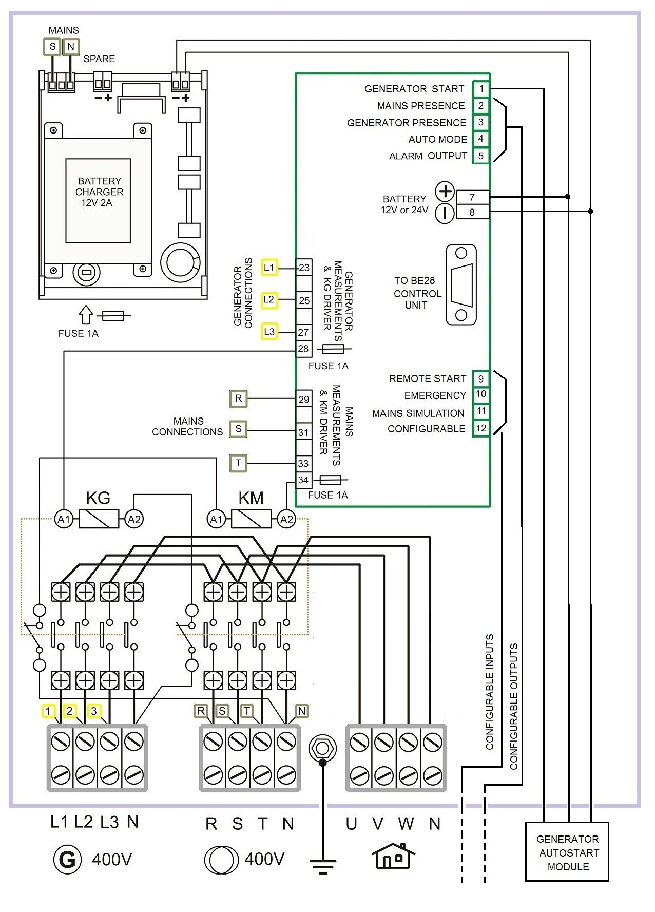 Wiring Diagram For Generator Transfer Switch Diagram Diagramtemplate Diagramsample Generator Transfer Switch Transfer Switch Electrical Circuit Diagram