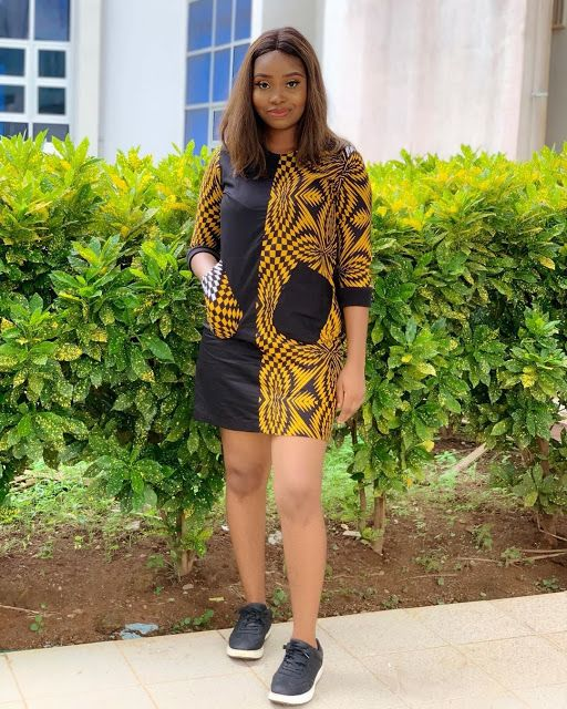 2019 Cute Ankara Gown Styles for Pretty Ladies - Naija's Daily from pinterest 1/6/2020