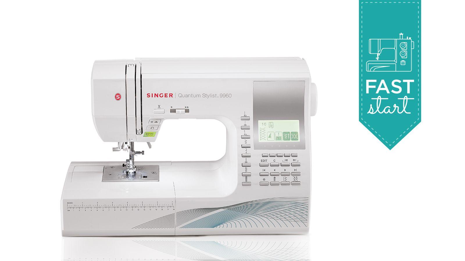 Singer Quantum Stylist™ Sewing Machine Model 9960 - Fast Start